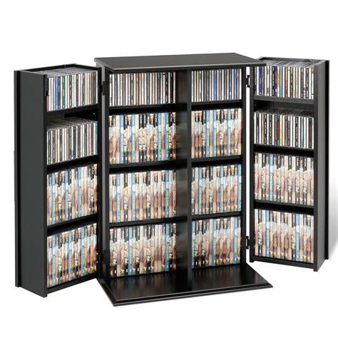 prepac black small locking multimedia storage cabinet