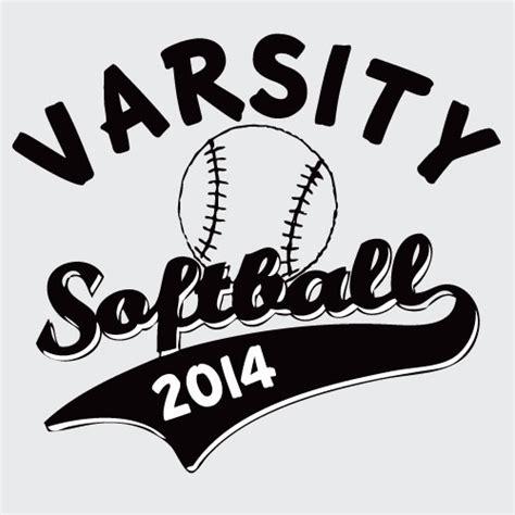 softball design templates varsity softball vector t shirt template illustration