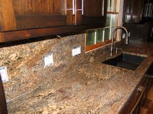 granite backsplash pictures and ideas