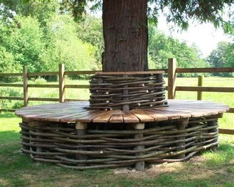 tree wrap around bench wrap around tree bench plans free woodworking projects