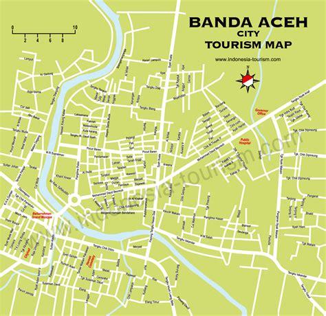 Diecast Miniatur Sightseeing jogja icon jogjaicon jogja fans banda aceh city tourist map peta wisata kota banda aceh