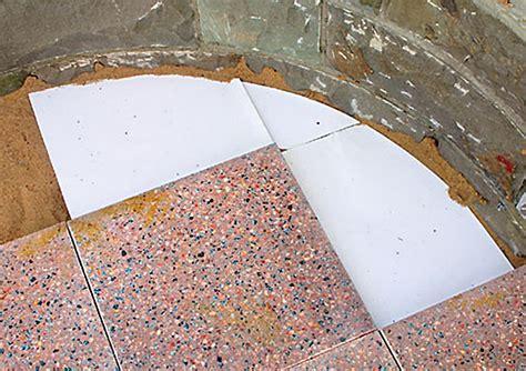 Terrasse Betonplatten by Terrasse Mit Betonplatten Steinterrasse Bild 10
