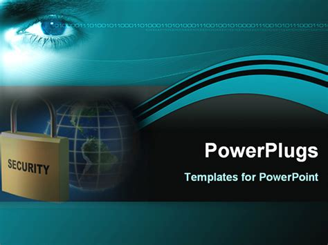 image represents global security powerpoint template