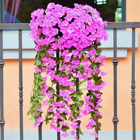 artificial flower decoration for home aliexpress com buy romantic artificial flowers hanging