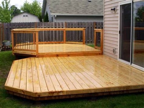 simple wood deck simple back deck like this outdoor