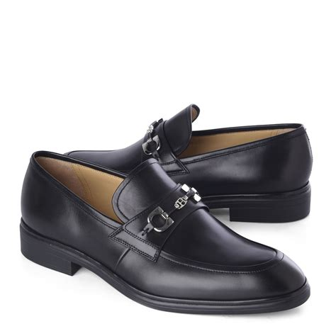 bally loafer shoes bally leather loafers in black for lyst