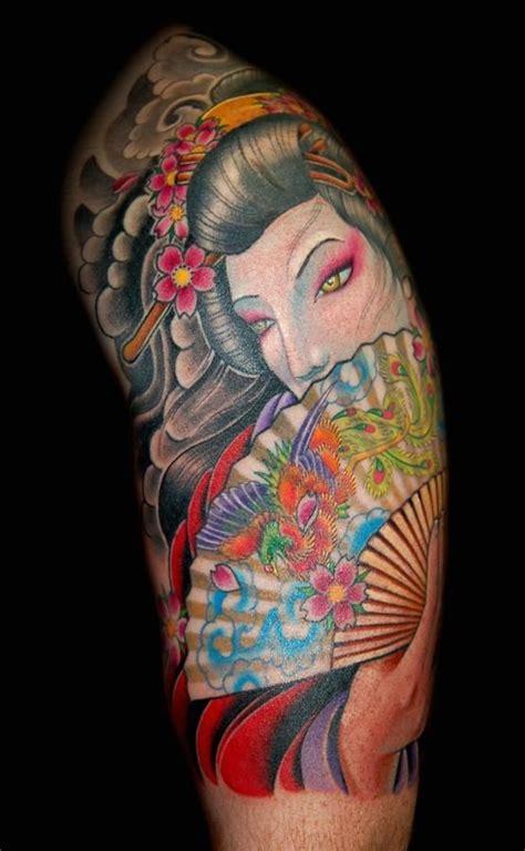 geisha tattoo magazine 100 best images about geisha tattoos on pinterest