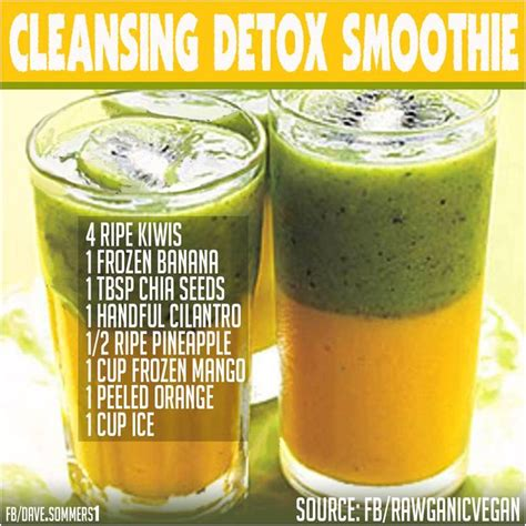 Free Recipes For Detox Smoothies by Detox Smoothie Health And