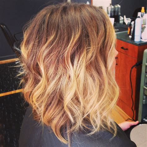 shoulder length hair with ombre pinterest shoulder length ombre rad hair colour pinterest