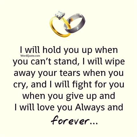 i you forever and always i will you always and forever word quote