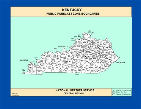 kentucky map with time zones maps kentucky zone forecast boundaries