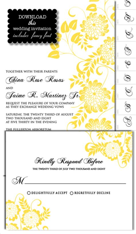 diy invitations templates free dahlia invite templates the wedding i do it