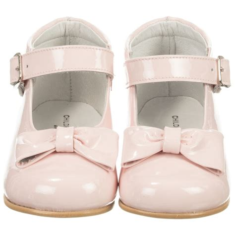 children s classics pink patent leather shoes