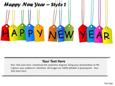 new year template template powerpoint happy new year 2015 new calendar