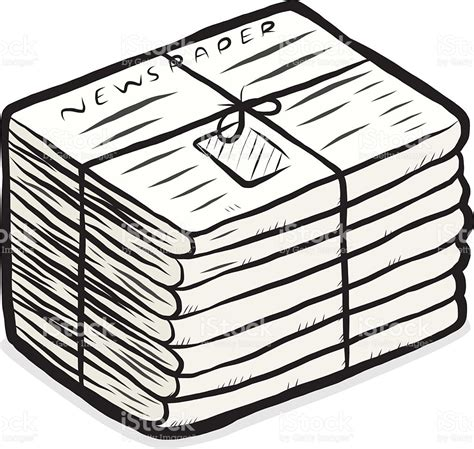 clipart newspaper newspaper stack clipart clipartxtras