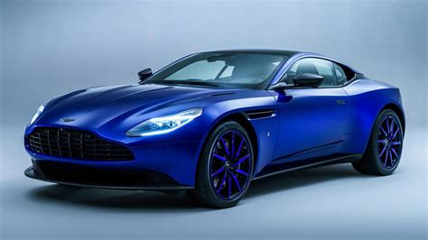 Where Are Aston Martins Made by Q Has Made A Blue Aston Martin Db11 Top Gear