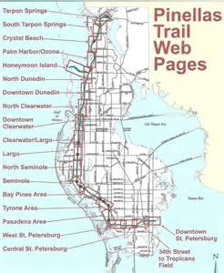 florida trail map pdf the pinellas trail from st petersburg to tarpon springs