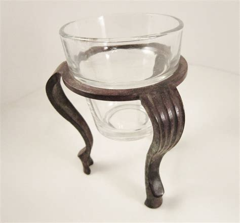 Bronze Glass Candle Holders Bronze Candle Stand With Glass Votive Candle Holder