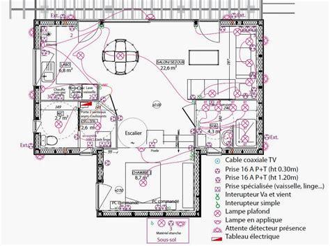 Type De Gaine électrique 2247 by Plan Electrique Maison Stunning Plan Electrique Maison