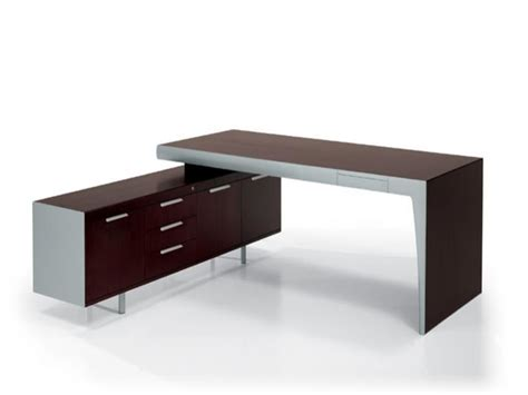 Office desk with bookcase, unusual executive desks modern