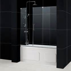 Tub Shower Door Mirage Frameless Sliding Shower Door Dreamline Bathroom Shower Doors Frameless Glass Shower Doors
