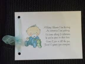 baby shower invitations 3 in 1 poem invitation rsvp set of 10