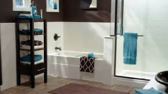 Teal And Brown Bathroom » New Home Design