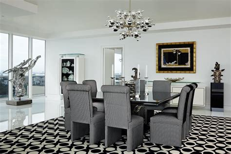 modern living room by john barman inc by architectural contemporary dining room in miami beach fl by john barman inc
