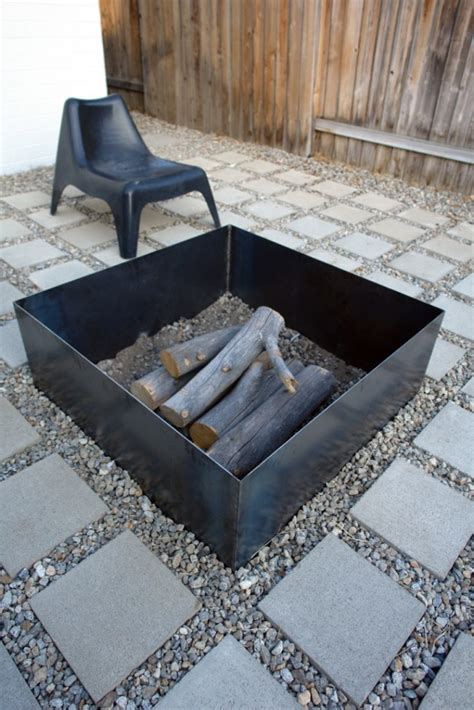 diy pit square 20 stunning diy pits you can build easily home and