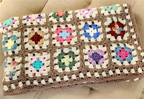 free pattern granny square afghan free crochet granny square blanket pattern petals to picots