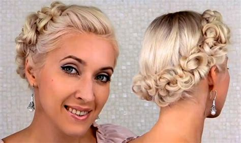 Wedding Hairstyles Tutorials by Wedding Updo Tutorial For Medium Hair Fashionisers