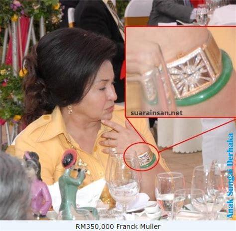 Jam Tangan Malaysia koleksi jam tangan ahli ahli politik di malaysia