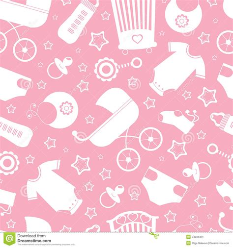 Pink Baby Shower Background pink baby shower background stock image image 24034351