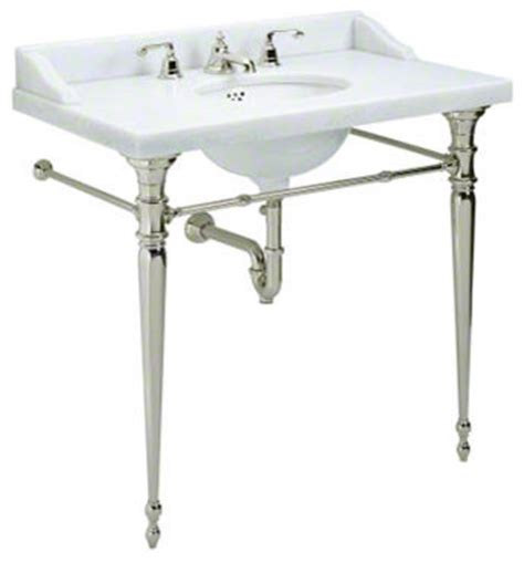 console bathroom sinks with chrome legs for country console legs with towel bars