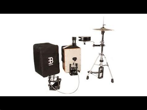 Cahon Akustik Drum Bok New meinl percussion cajon drum set review by sweetwater insync sweetwater