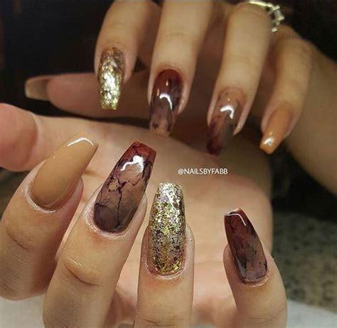 New Nail Designs Fall 2017 15 autumn acrylic nail designs ideas 2017 fall
