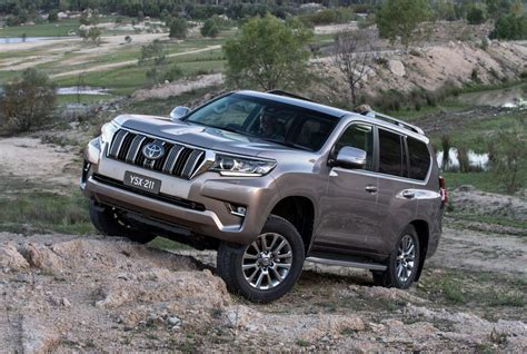 toyota land cruiser prado 2018 toyota landcruiser prado now on sale in australia