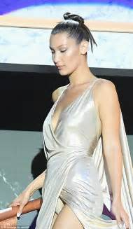Daily Mail Wardrobe by Hadid Suffers Wardrobe At Cannes Gala