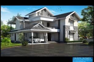 Kerala Home Design Thiruvalla by Green Homes Modern Slopping Roof Villa Design