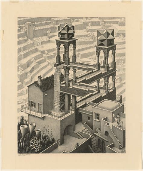 an collection of high res scans of m c escher s prints