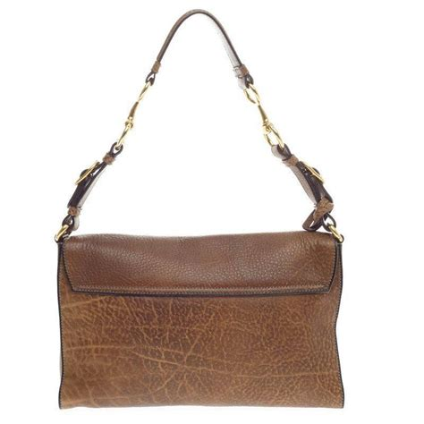 gucci harness gucci harness shoulder bag distressed pebbled leather small at 1stdibs