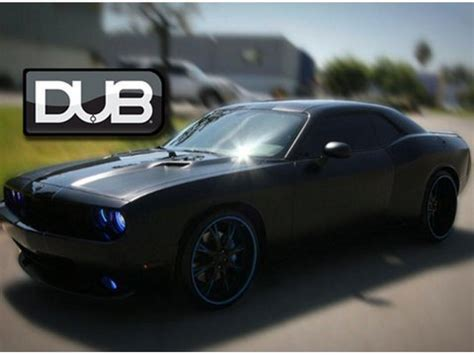 dodge challenger fixed up quot blk hwk quot dub edition widebody dodge challenger