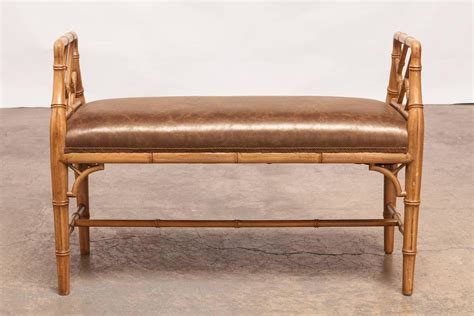 chinese chippendale bench faux bamboo chinese chippendale style window bench for