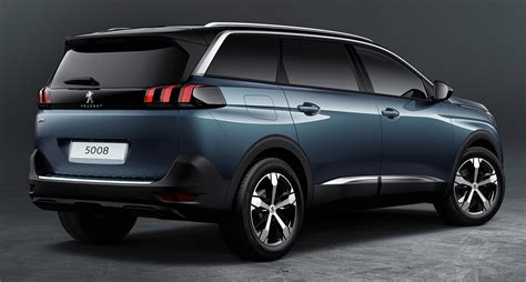 2017 Peugeot 5008 Revealed Goodbye Mpv Hello Suv Image
