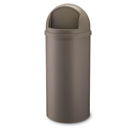 backyard garbage cans trash can glamorous rubbermaid round trash cans