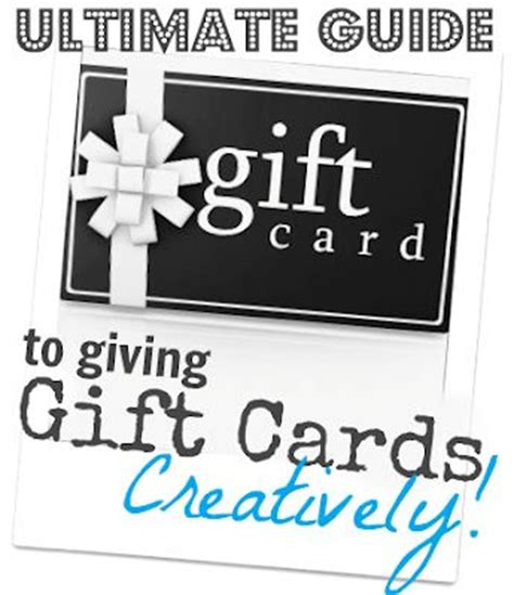 Ncg Gift Cards - 20 awesome ways to creatively give a gift card gift of money pinterest creative