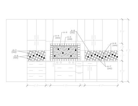 pattern potential subway backsplash tile centsational girl backsplash layout kitchen and bath designer