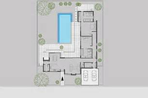U Shaped House Plans With Courtyard courtyard house plans u shaped | house plans