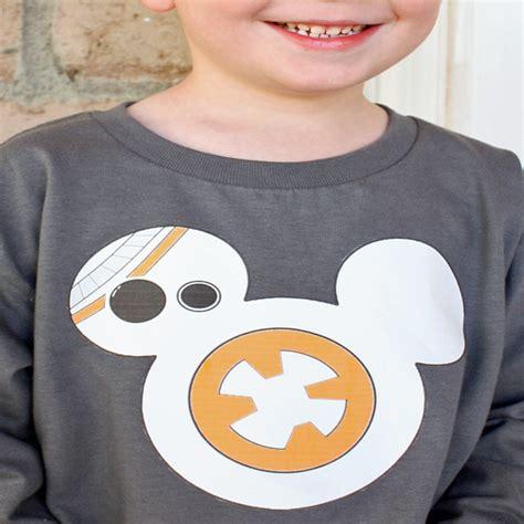 Star Wars Diy Bb 8 Shirt Desert Chica Diy Disney Shirt Template