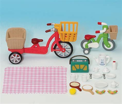 Sylvanian Families Bikes And Picnic Set buy bikes picnic set sylvanian families